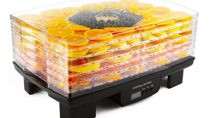 Rectangular Digital Food Dehydrator from Andrew James