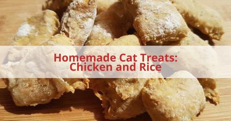 Chicken And Rice Cat Treats